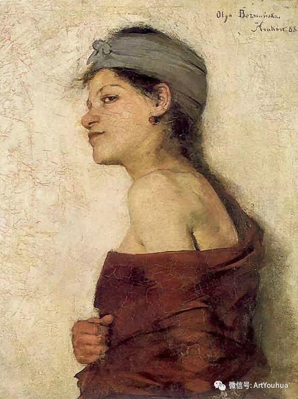 波兰女画家Olga Boznańska插图43