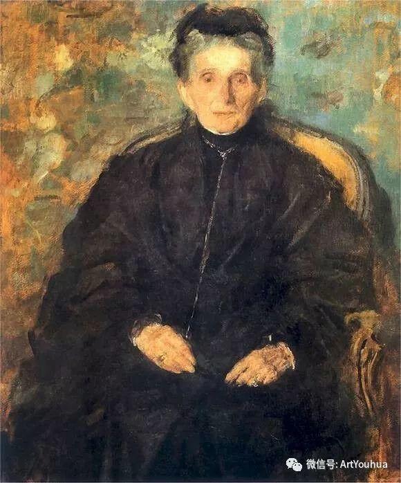 波兰女画家Olga Boznańska插图47