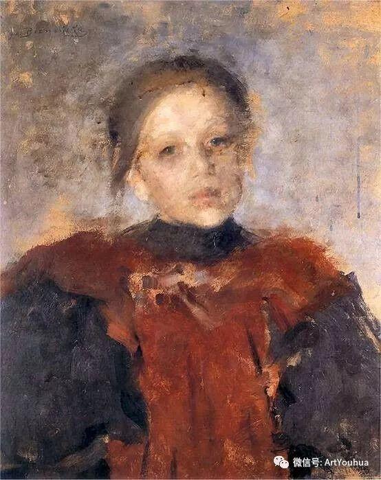 波兰女画家Olga Boznańska插图51