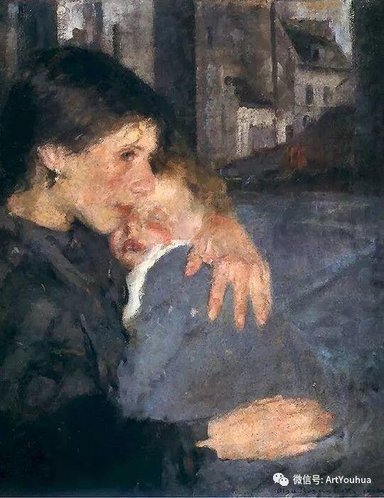 波兰女画家Olga Boznańska插图53