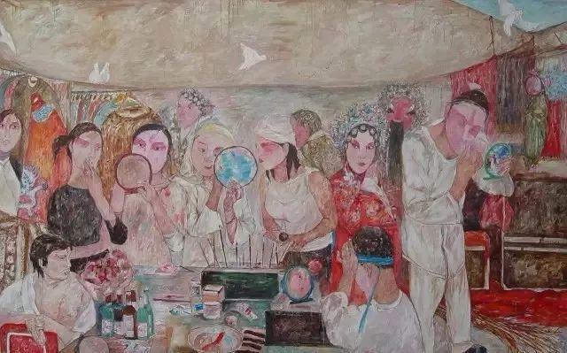 她用24年书写从村姑到画家的传奇,作品被瑞典国王、法国总统收藏插图19