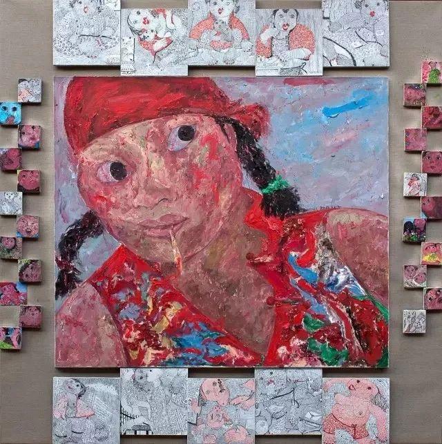 她用24年书写从村姑到画家的传奇,作品被瑞典国王、法国总统收藏插图21