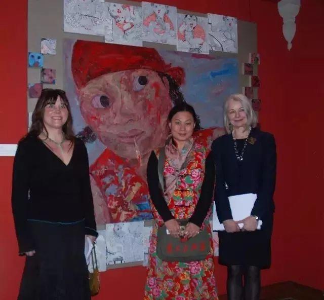 她用24年书写从村姑到画家的传奇,作品被瑞典国王、法国总统收藏插图35