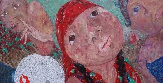 她用24年书写从村姑到画家的传奇,作品被瑞典国王、法国总统收藏插图45