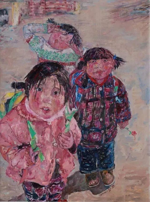 她用24年书写从村姑到画家的传奇,作品被瑞典国王、法国总统收藏插图51