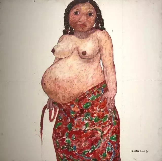 她用24年书写从村姑到画家的传奇,作品被瑞典国王、法国总统收藏插图55