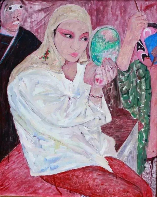 她用24年书写从村姑到画家的传奇,作品被瑞典国王、法国总统收藏插图57