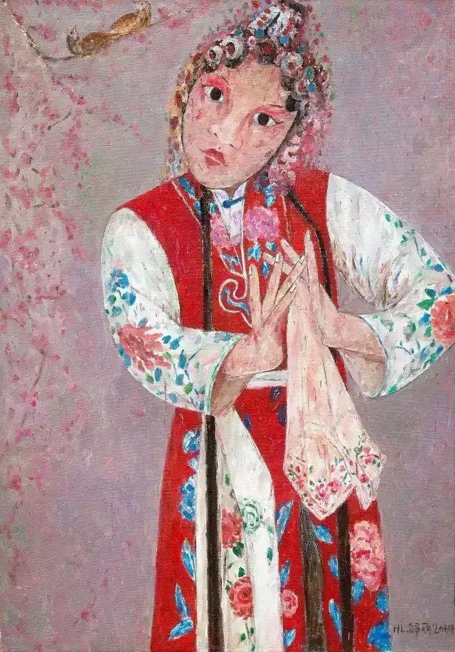 她用24年书写从村姑到画家的传奇,作品被瑞典国王、法国总统收藏插图59