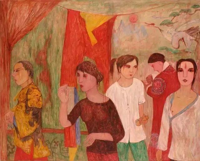 她用24年书写从村姑到画家的传奇,作品被瑞典国王、法国总统收藏插图65