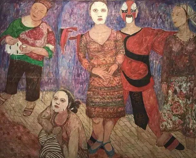 她用24年书写从村姑到画家的传奇,作品被瑞典国王、法国总统收藏插图73