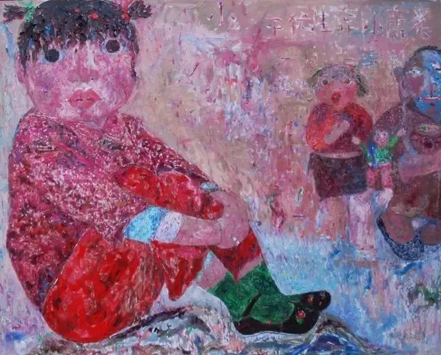 她用24年书写从村姑到画家的传奇,作品被瑞典国王、法国总统收藏插图83