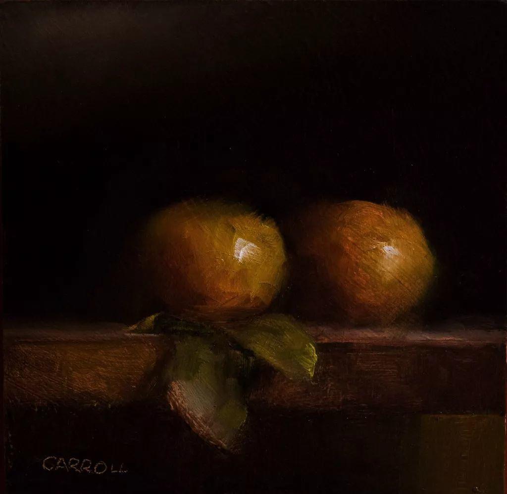 暗黑风格静物水果——英国Neil Carroll系列2插图1