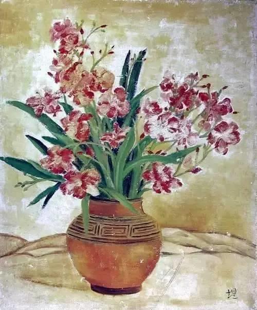 她是中国现代派杰出女画家,中国油画艺术的奠基人之一插图7