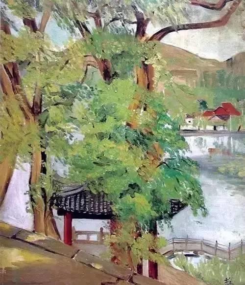 她是中国现代派杰出女画家,中国油画艺术的奠基人之一插图11