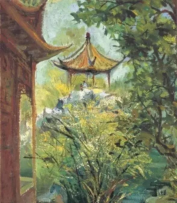她是中国现代派杰出女画家,中国油画艺术的奠基人之一插图20