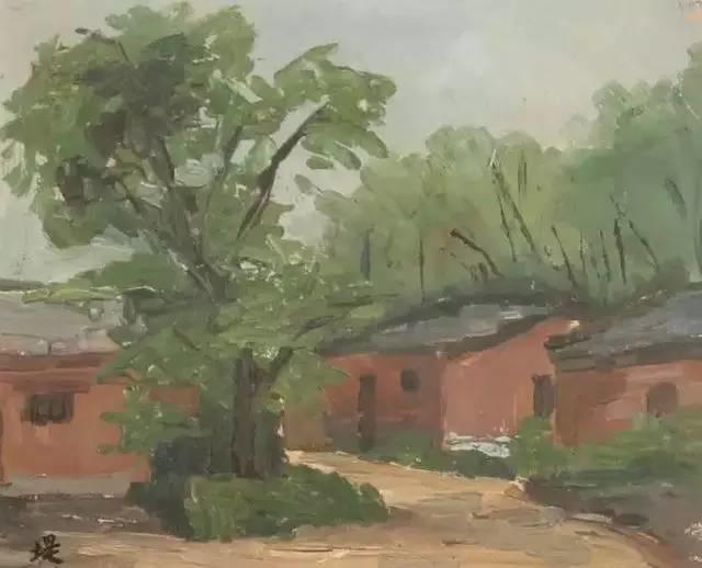 她是中国现代派杰出女画家,中国油画艺术的奠基人之一插图21