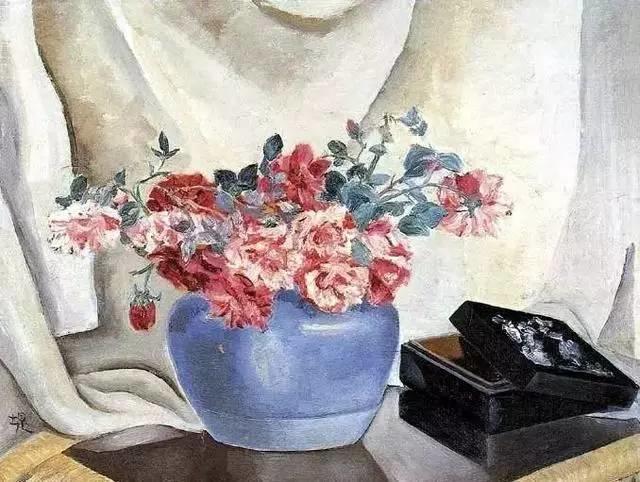 她是中国现代派杰出女画家,中国油画艺术的奠基人之一插图25