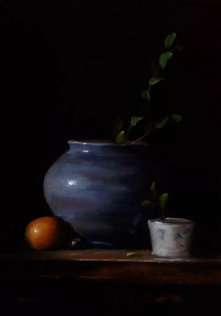 暗黑风格静物瓷器——英国画家Neil Carroll系列1插图