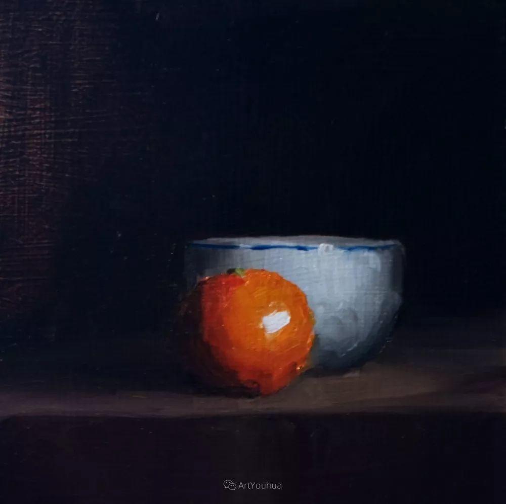 暗黑风格静物瓷器——英国画家Neil Carroll系列1插图1