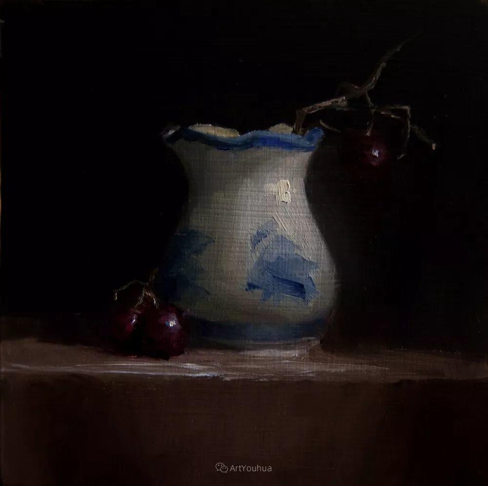 暗黑风格静物瓷器——英国画家Neil Carroll系列1插图2