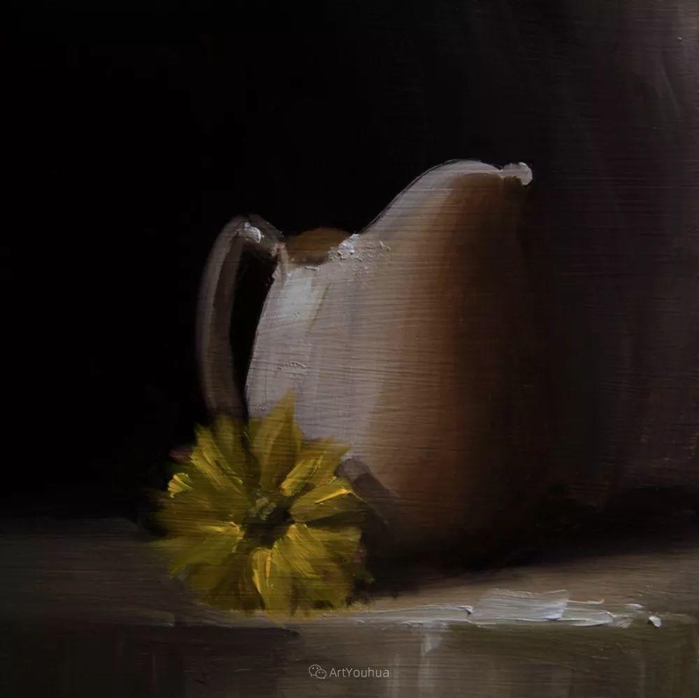 暗黑风格静物瓷器——英国画家Neil Carroll系列1插图4