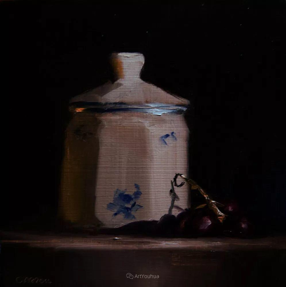 暗黑风格静物瓷器——英国画家Neil Carroll系列1插图7