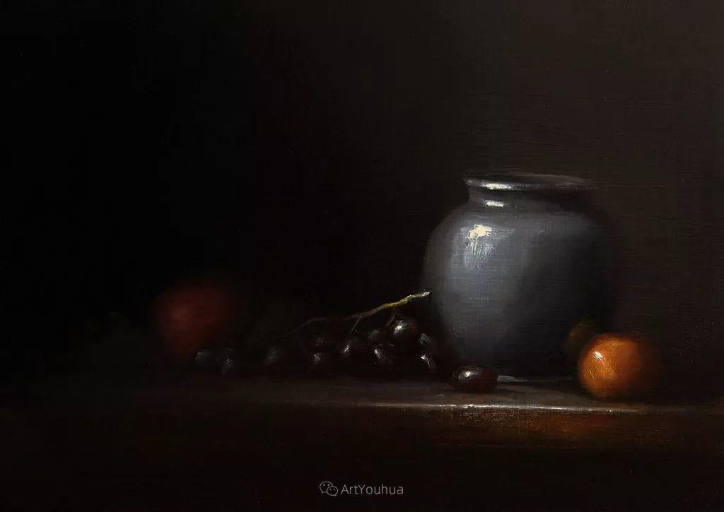 暗黑风格静物瓷器——英国画家Neil Carroll系列1插图9