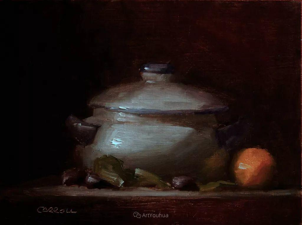 暗黑风格静物瓷器——英国画家Neil Carroll系列1插图10