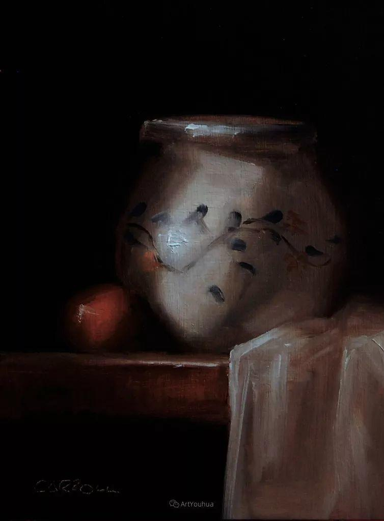 暗黑风格静物瓷器——英国画家Neil Carroll系列1插图12