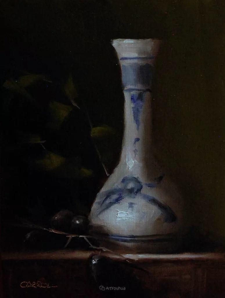暗黑风格静物瓷器——英国画家Neil Carroll系列1插图14