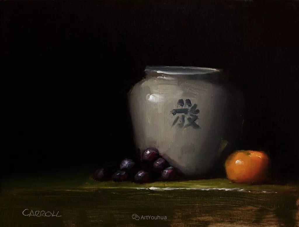 暗黑风格静物瓷器——英国画家Neil Carroll系列1插图17
