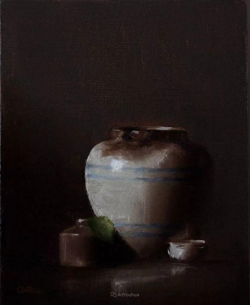 暗黑风格静物瓷器——英国画家Neil Carroll系列1插图20