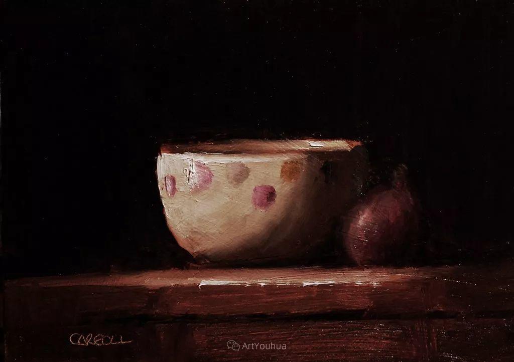 暗黑风格静物瓷器——英国画家Neil Carroll系列1插图29