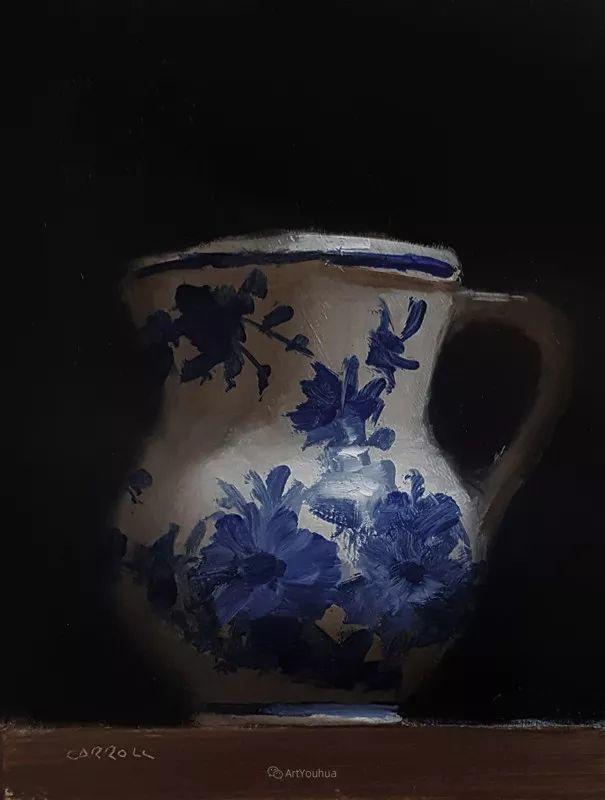 暗黑风格静物瓷器——英国画家Neil Carroll系列1插图34