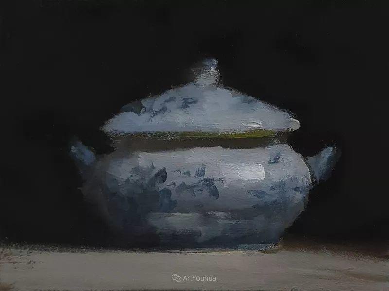 暗黑风格静物瓷器——英国画家Neil Carroll系列1插图35