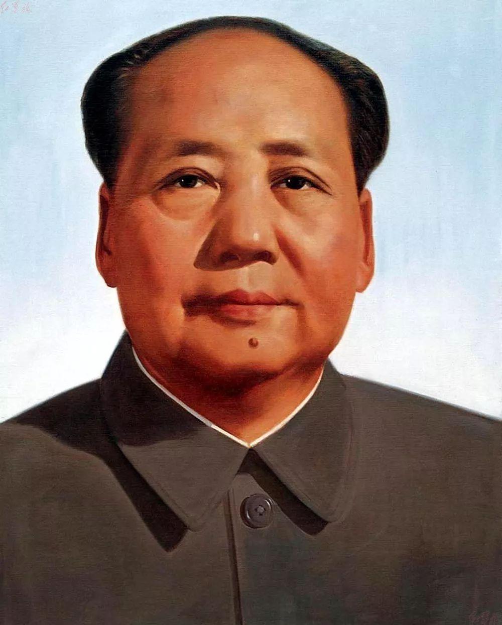 画家笔下的毛主席 缅怀毛主席逝世43周年插图