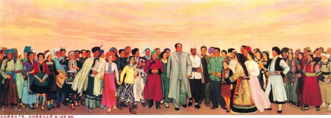 画家笔下的毛主席 缅怀毛主席逝世43周年插图29