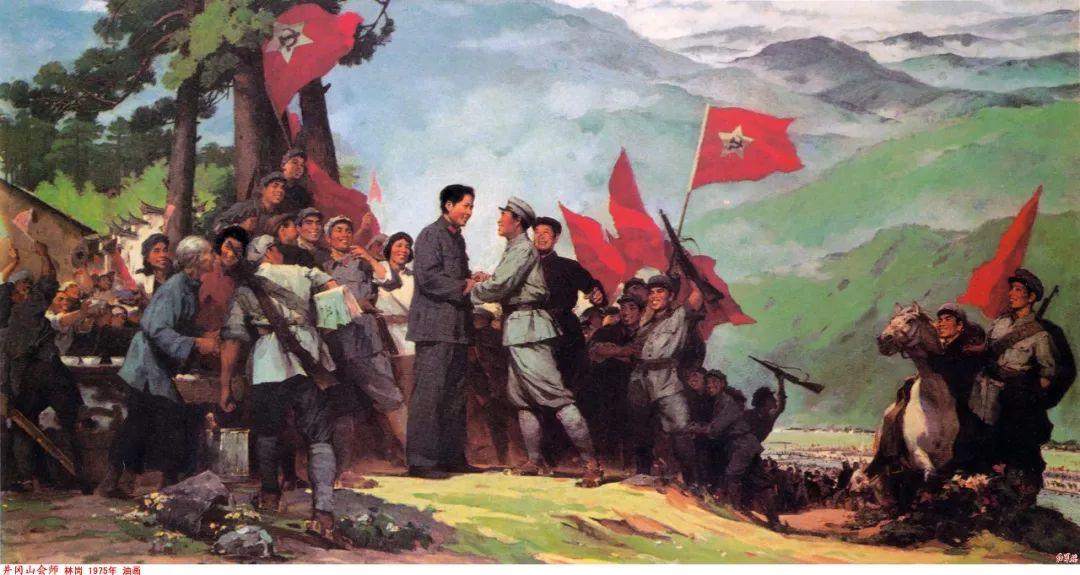 画家笔下的毛主席 缅怀毛主席逝世43周年插图33