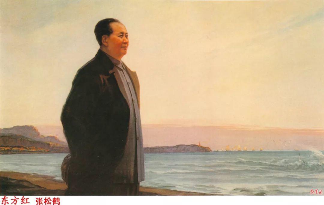 画家笔下的毛主席 缅怀毛主席逝世43周年插图38