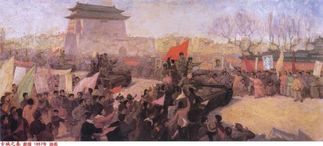 画家笔下的毛主席 缅怀毛主席逝世43周年插图73