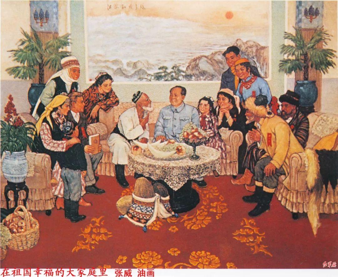 画家笔下的毛主席 缅怀毛主席逝世43周年插图75