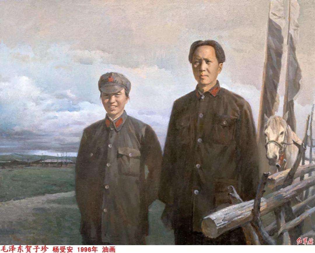 画家笔下的毛主席 缅怀毛主席逝世43周年插图86