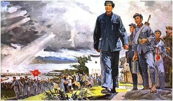画集《毛主席在长征途中》插图3