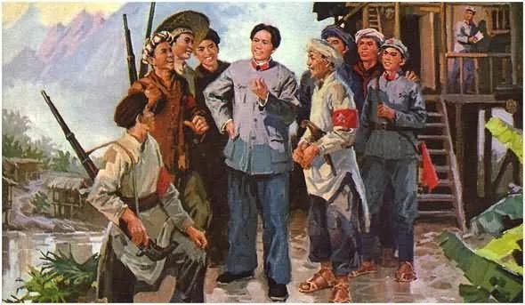 画集《毛主席在长征途中》插图7
