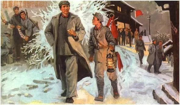画集《毛主席在长征途中》插图8