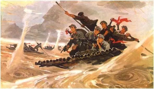 画集《毛主席在长征途中》插图9