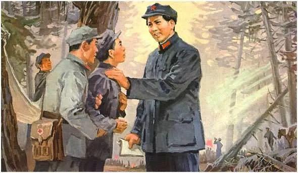 画集《毛主席在长征途中》插图11