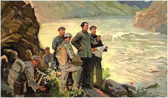 画集《毛主席在长征途中》插图13
