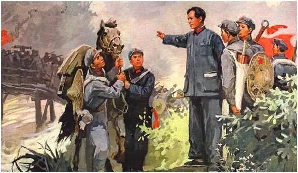 画集《毛主席在长征途中》插图17