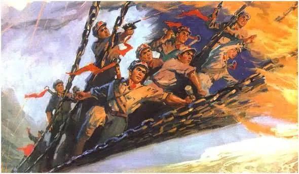 画集《毛主席在长征途中》插图18